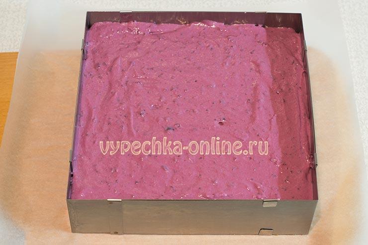 Чизкейк с ягодами рецепт без выпечки с печеньем