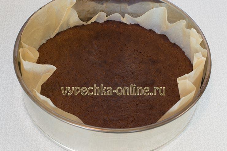 Шоколадный чизкейк рецепт с фото пошагово из творога