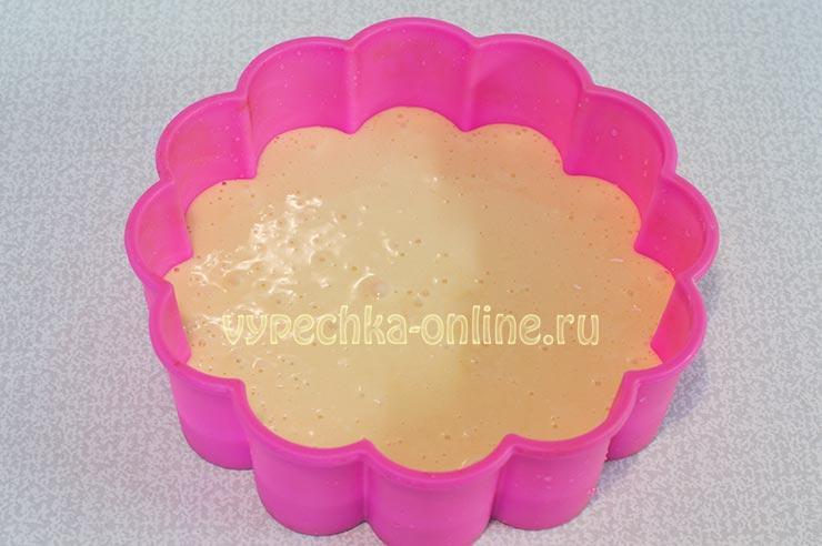 Простой бисквитный торт в домашних условиях рецепт с фото