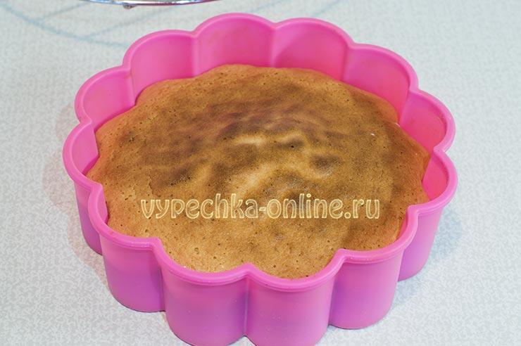 Бисквитный торт в домашних условиях простой рецепт