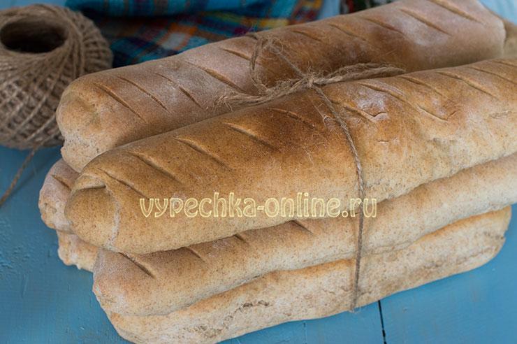 Багет в домашних условиях в духовке рецепт с фото пошагово