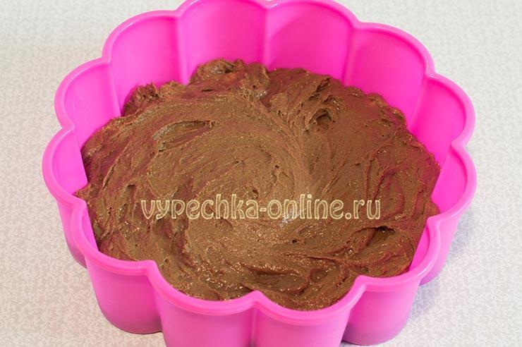 Простой шоколадный пирог с какао рецепт