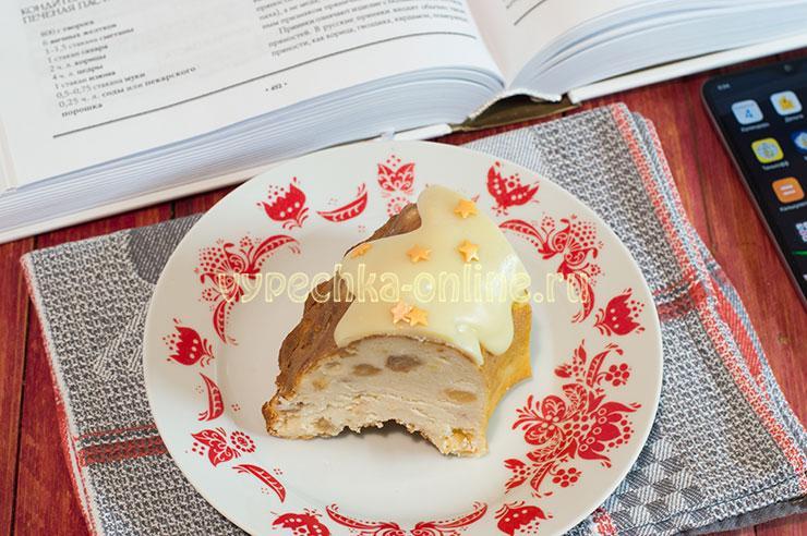 Печёная творожная пасха рецепт Похлёбкина