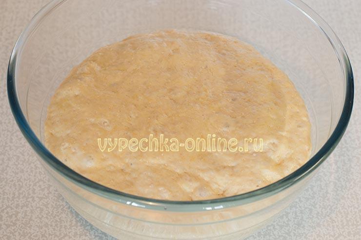 Тесто для ягодного пирога на дрожжевом тесте