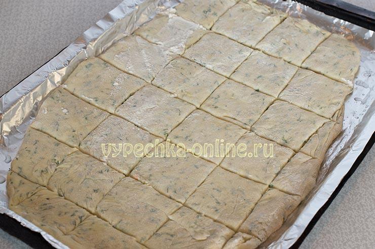 Печенье на кефире и растительном масле без яиц
