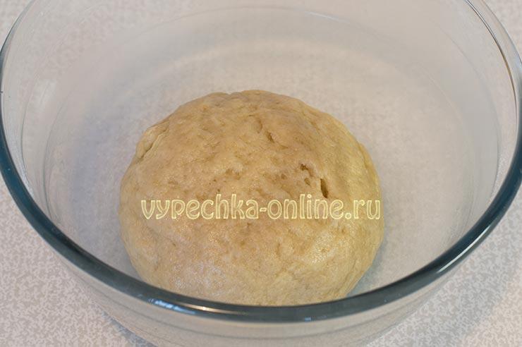 Постное кунжутное печенье рецепт