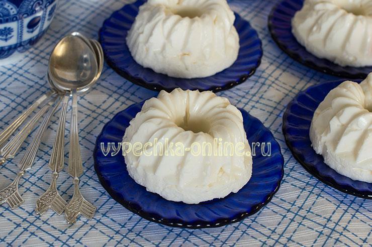 Суфле десерт рецепт