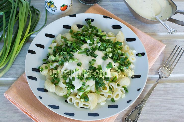 Сливочный соус для макарон из сливок и сыра – пошаговый рецепт с фото