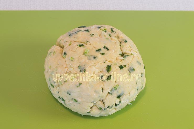Сырное печенье на скорую руку в духовке рецепт теста