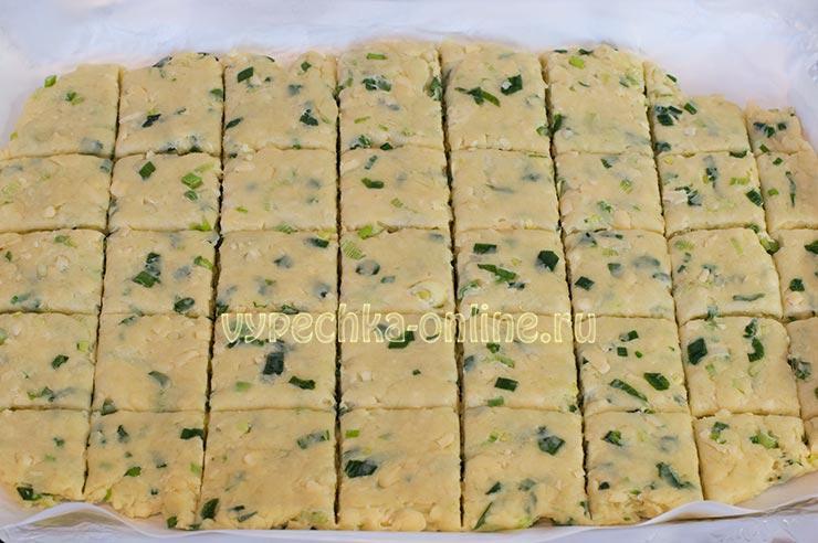 Печенье с сыром рецепт с фото пошагово в домашних условиях