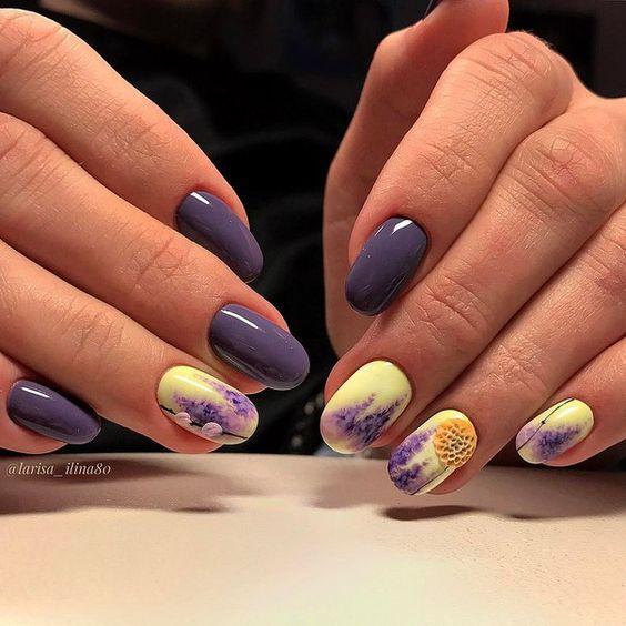 Необычный дизайн ногтей 2020 – маникюр гель лаком, идеи