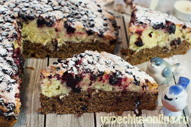 Пирог со смородиной из песочного теста в духовке - рецепт с фото пошагово