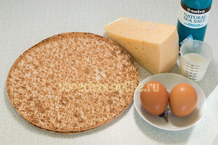 Рецепты из тонкого лаваша и сыра