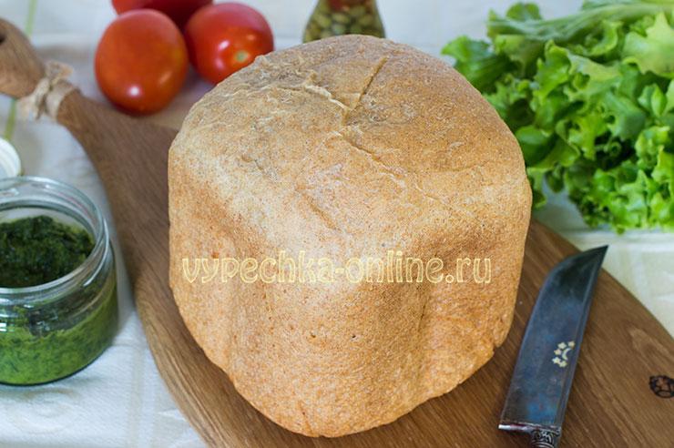 Серый хлеб в хлебопечке - простой и вкусный рецепт с фото
