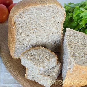 Серый хлеб в хлебопечке рецепт простой и вкусный