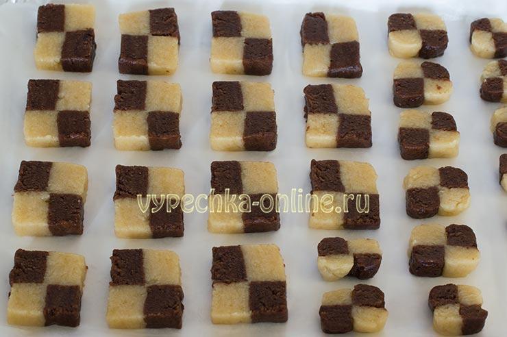 Постное печенье с какао