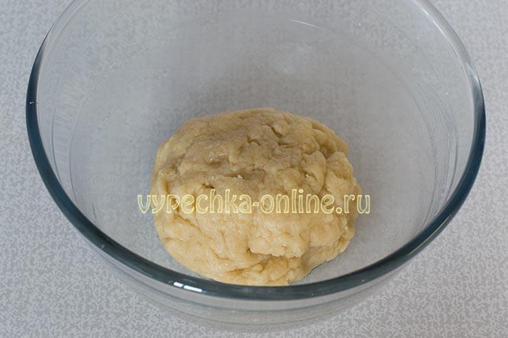 Постное тесто на печенье