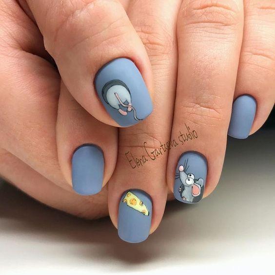 Интересный дизайн ногтей 2020 - идеи маникюра с фото