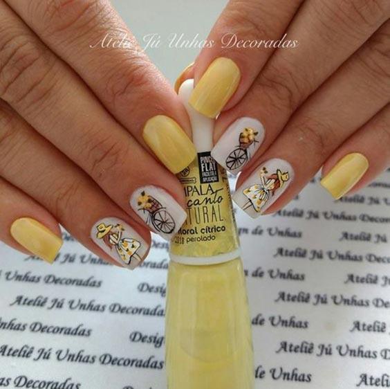 Интересный дизайн ногтей фото