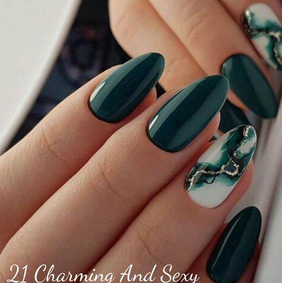 Интересный дизайн ногтей идеи