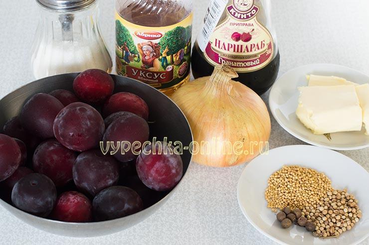 Заготовки из сливы на зиму рецепты
