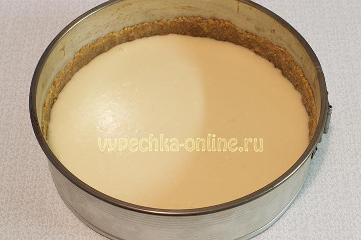 Чизкейк с сыром hochland