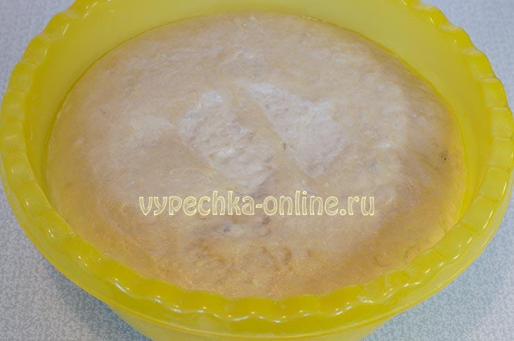 Как сделать постное тесто на сухих дрожжах мягким