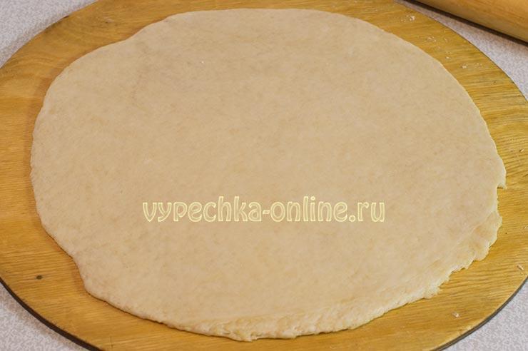Тесто для пирога с заливкой