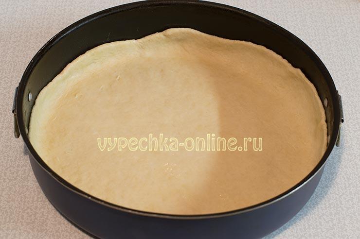 Пирог с яблоками и сметанной заливкой рецепт