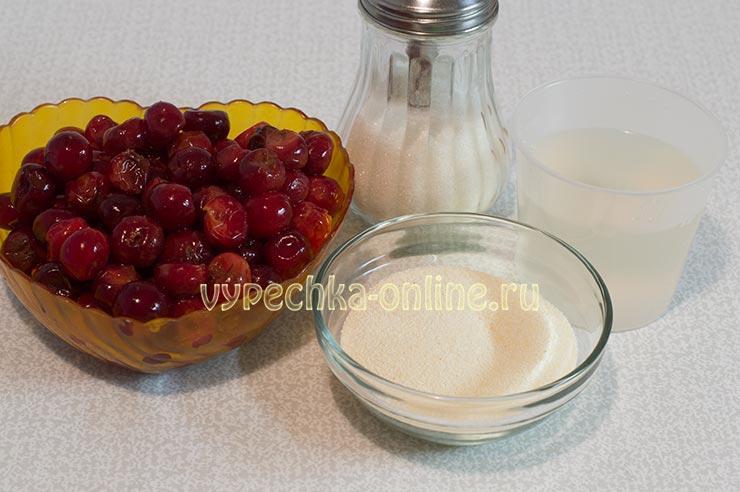 Постные рецепты с вишней