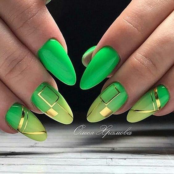 Маникюр интересный дизайн ногтей