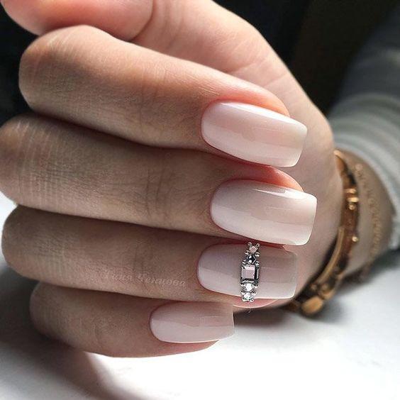 Свадебный дизайн ногтей фото