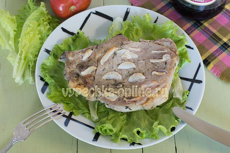 Буженина в домашних условиях из свинины в духовке в фольге