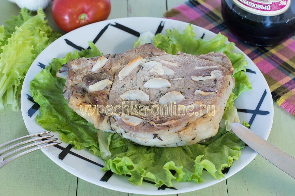 Буженина из свинины в домашних условиях в духовке в фольге - пошаговый рецепт с фото