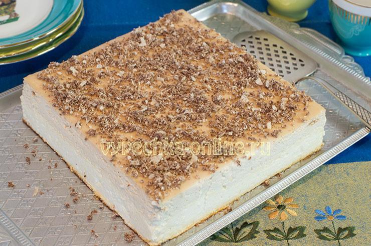 Творожная запеканка с манкой в духовке пышная рецепт с фото пошагово