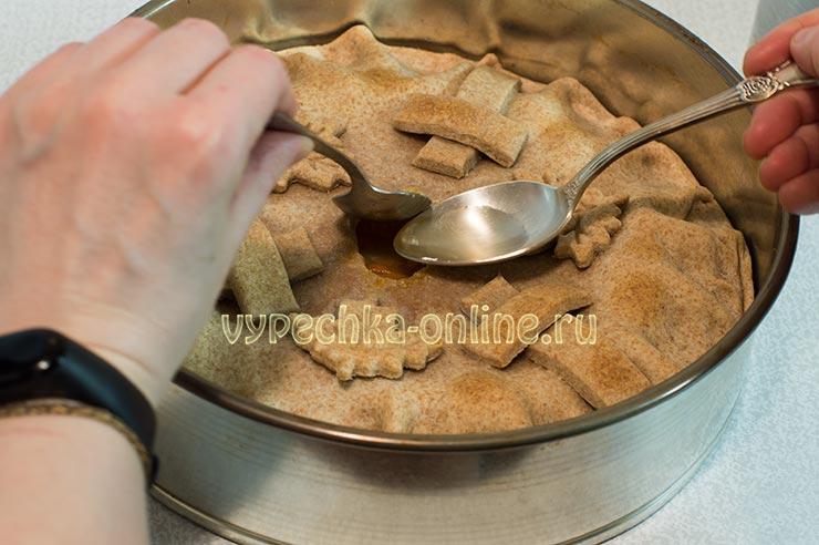 Необычный пирог с капустой рецепт