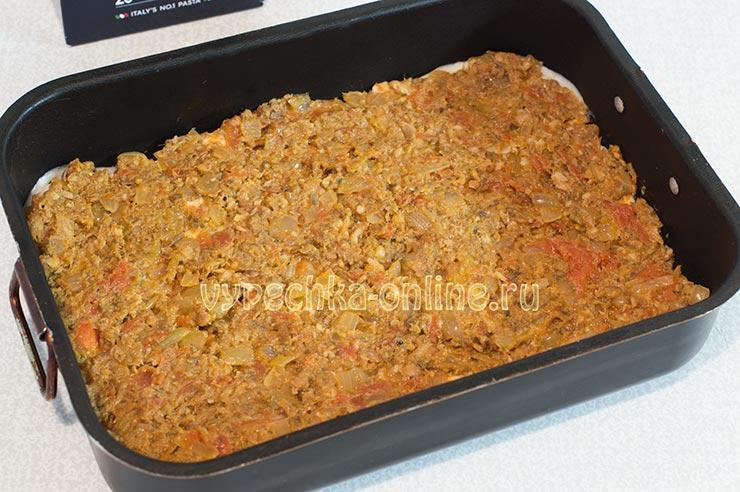 Как приготовить лазанью в домашних условиях пошаговый рецепт
