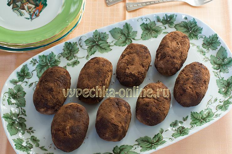 Как сделать пирожное картошка в домашних условиях рецепт с фото пошагово