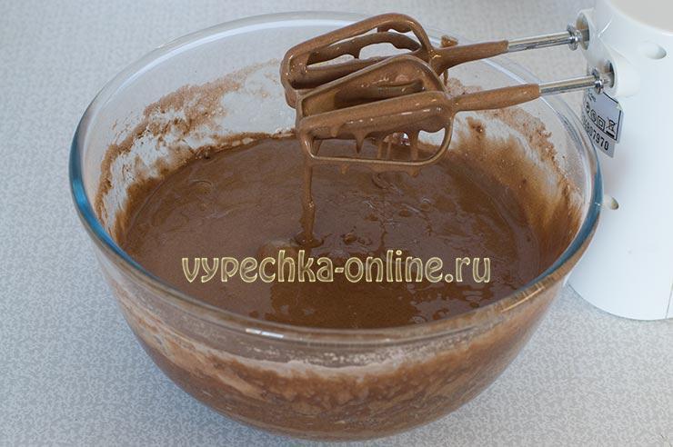 Бисквитное тесто с какао рецепт