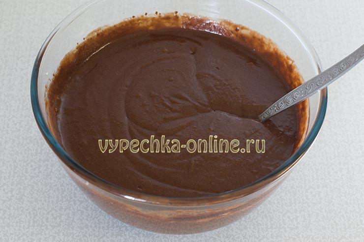 Шоколадный торт без муки рецепт