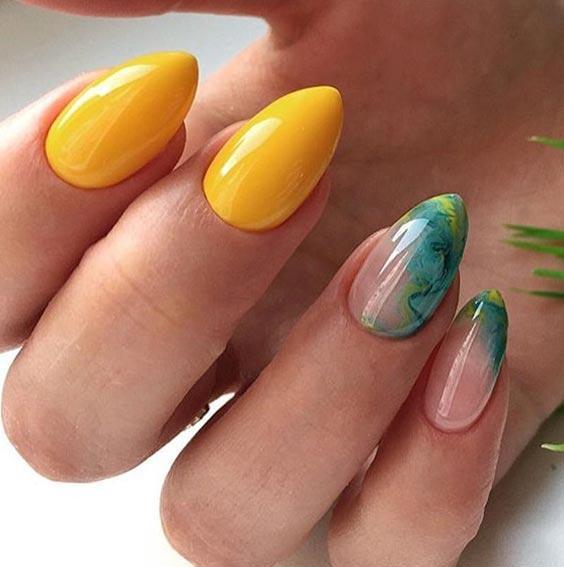 интересный дизайн ногтей 2020