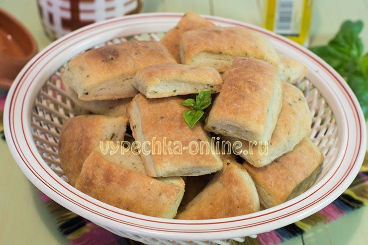 Рецепт печенья с базиликом