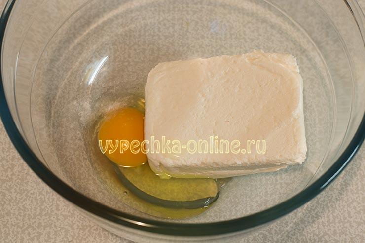 Творожно-сырное печенье