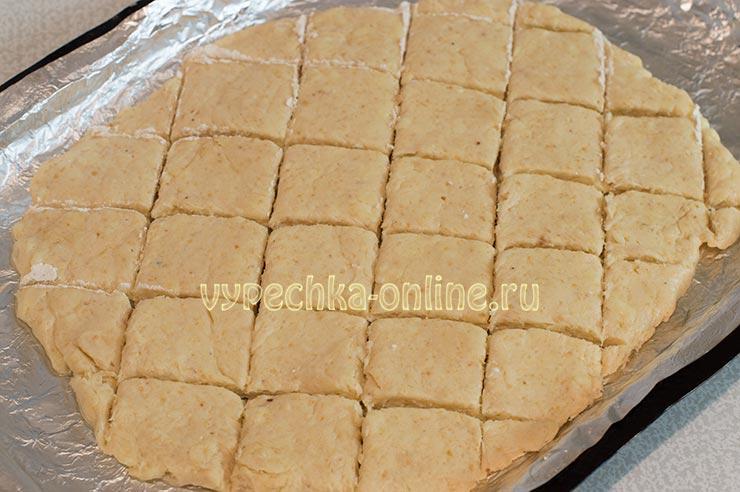 Сырное печенье за 15 минут