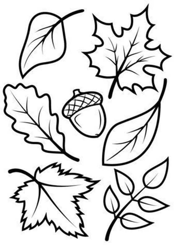 Шаблон листья для осеннего маникюра