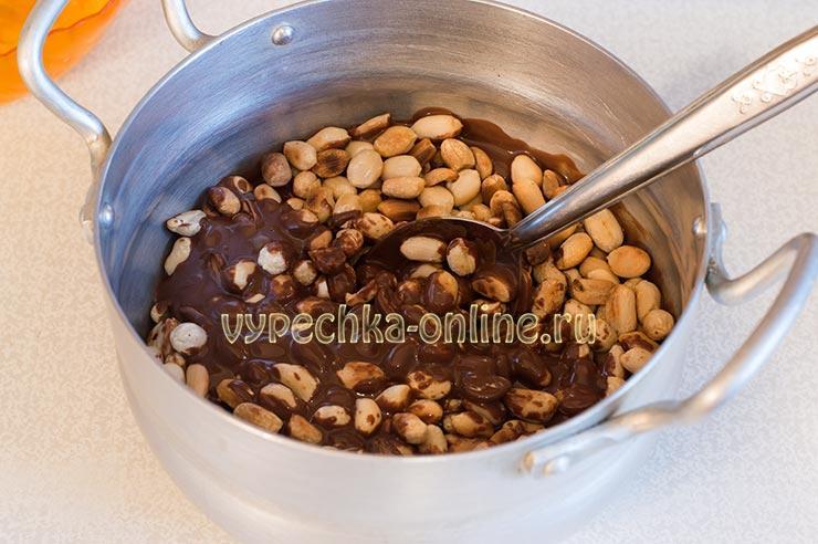Как сделать арахис в шоколаде дома