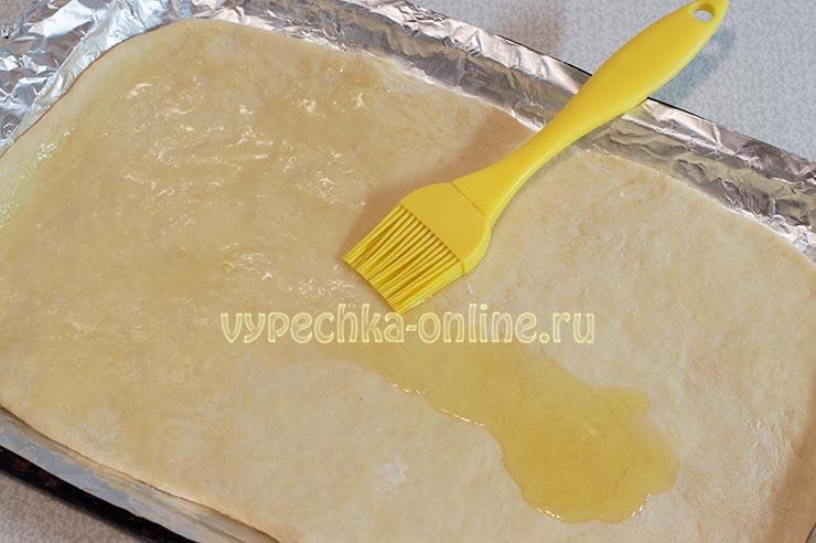 Смазывание оливковым маслом