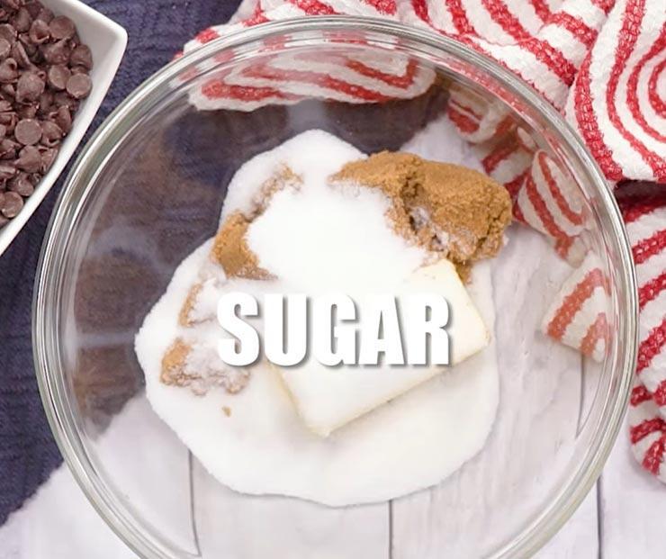 Масло, сахар