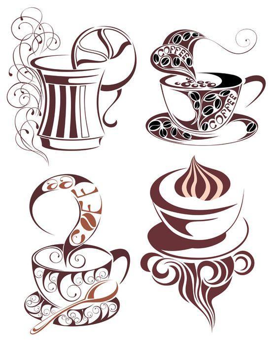Кофе шаблон