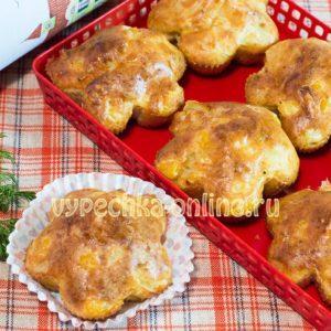 Кексы в силиконовых формах рецепт простой в духовке на твороге – закусочный (несладкий) вариант